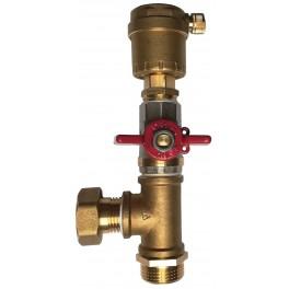 """Odvzdušňovací ventil - sestava - 3/4"""""""