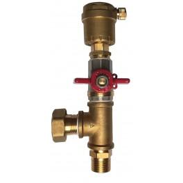 """Odvzdušňovací ventil - sestava - 1/2"""""""