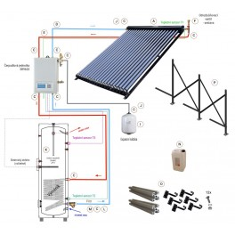 Základní solární sestava s kolektorem JMC-5818-30